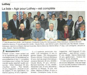 2014 03 13 Municipales Ouest France